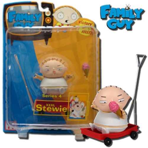 Mezco Family Guy Series 4 Action Figure XXXL Stewie - 1
