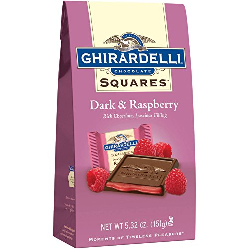 ギラデリ広場ダーク ラズベリー (パックの 3) Squares Dark Raspberry (Pack of 3)