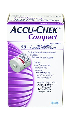 Accu Chek Compact PLUS Test Drum 102 Test