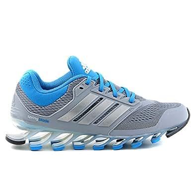 Adidas Springblade Drive Running Sneaker Shoe - Grey/Blue - Womens - 6