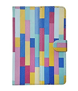 Fastway Flip Cover For Huawei MediaPad X1 -Multicolor