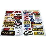Racing Gear Decal Sticker Mx Motocross Dirt Bike ATV 2 Sheets #R203