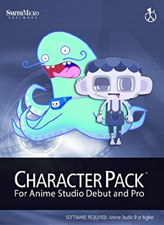 Anime Studio 9 Character Pack Vol 1 for Mac [Download]