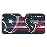 NFL Houston Texans Universal Auto Shade, Large, Black