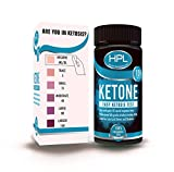 HPL 100-ct Ketone Test Strips and Check Ketosis Levels for Fat Burning Weight Loss