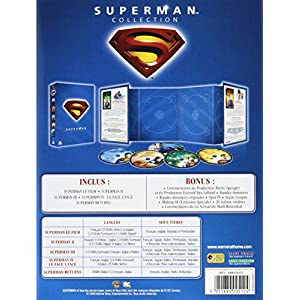Superman, l'intégrale : coffret 5 DVD