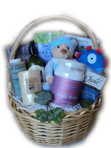 Mommy and Baby Relaxation Basket