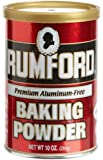 Rumford Aluminum Free Baking Powder, 8.1-Ounce Canisters (Pack of 6)