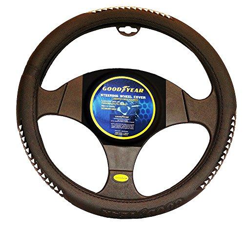 goodyear-pu-leather-steering-wheel-cover-for-145-155-wheel-black-arrow