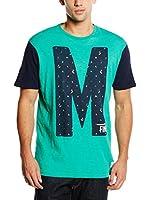 Springfield Camiseta Manga Corta (Verde)