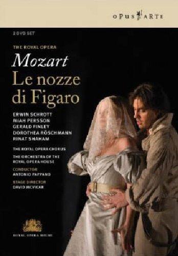 Bodas De Figaro (Roayl Opera House) – Mozart – DVD