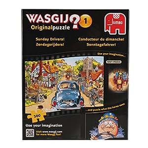 WASGIJ Original 1 Retro Sunday Drivers Jigsaw Puzzle