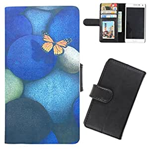 DooDa - For HTC Desire 816 PU Leather Designer Fashionable Fancy Flip Case Cover Pouch With Card, ID & Cash Slots And Smooth Inner Velvet With Strong Magnetic Lock