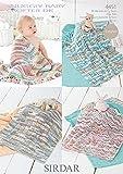 Sirdar Snuggly Baby Crofter DK Crochet Blankets Pattern