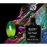 bluesky shellac changing color chameleon gel polish