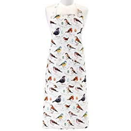 Birdsong Cotton Apron