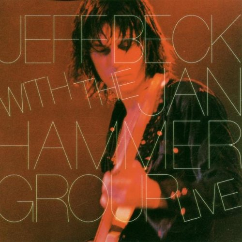 Jeff Beck with the Jan Hammer Group Live artwork