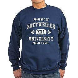 CafePress Property of Rottweiler Univ. Sweatshirt dark by CafePress