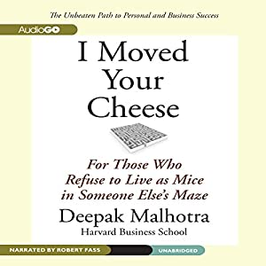 I Moved Your Cheese Audiobook