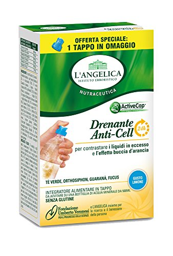 L'Angelica Tappi Drenante AntiCell 24h, Pacco da 6 x 5 gr, Totale: 30 gr
