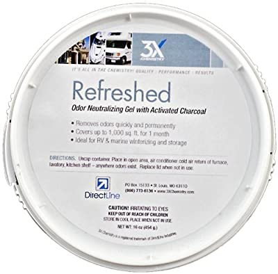 3X:Chemistry Refreshed Activated Charcoal Odor Neutralizer - 16 oz. Tub