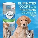 Febreze Extra Strength Pet Odor Eliminator Room & Carpet  Deodorizing Powder Endorsed by BISSELL, 32 ounces