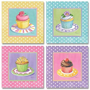 , color de rosa / amarillo / azul / lavanda Pasteles: Home & Kitchen