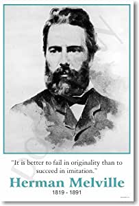 Herman Melville - Famous Person Classroom Poster