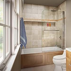 DreamLine SHDR-3734580-01 AquaSwing Tub Clear Glass Tub