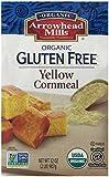 Arrowhead Mills Organic Gluten Free Yellow Corn Meal, 2 Pound (Pack of 6)
