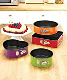 Colorful 4-Pc. Springform Bakeware Set