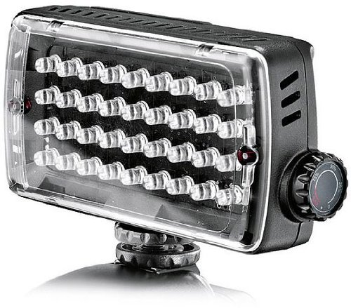 Manfrotto Ml360H Midi Hybrid 36 Led Panel For Video And Still Cameras