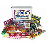 1966 50th Birthday Gift Basket Box Retro Nostalgic Candy Jr. From Childhood