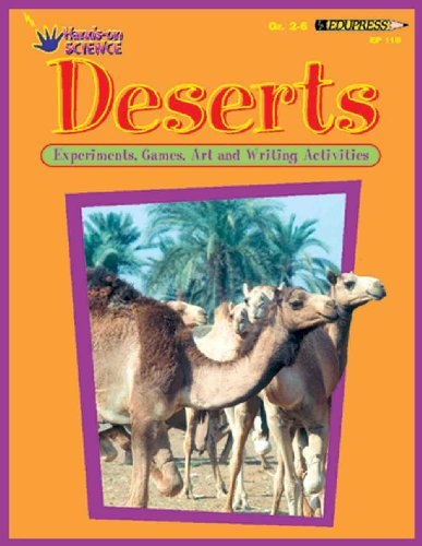 Hands-On ScienceTM Activity Book, Deserts