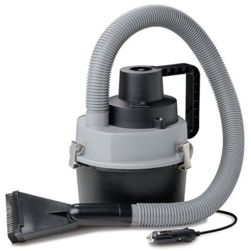 Wet & Dry 12V Car Van Vacuum Cleaner Hoover with Hose & 3 Attachment Heads