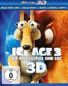 Ice Age 3 - Die Dinosaurier sind los [Blu-ray 3D + Blu-ray + DVD + Digital Copy]