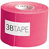 "3B Scientific Pink Cotton Rayon Fiber Kinesiology Tape, 16' Length x 2"" Width"