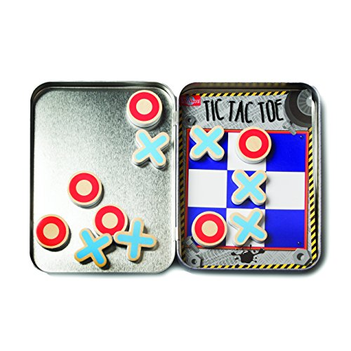 Tic Tac Toe Mini Tin Magnetic Game