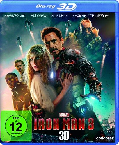 Iron Man 3  (inkl. 2D-Version) [3D Blu-ray]
