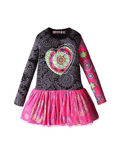 Desigual Kleid Helena rosa