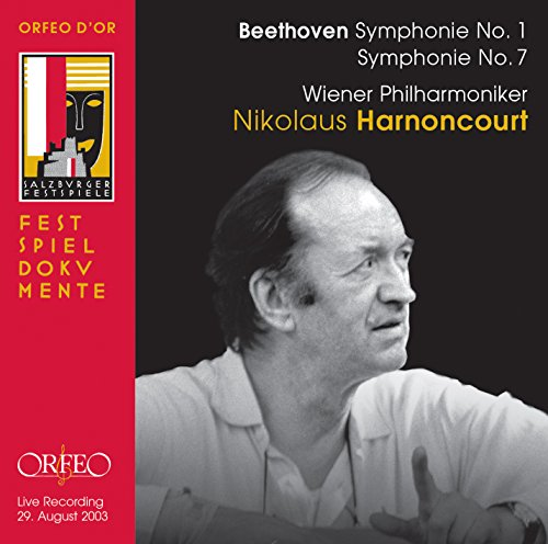 CD : BEETHOVEN / VIENNA PHILHARMONICS / HARNONCOURT - Ludwig Van Beethoven: Symphony No. 1 & No. 7 (CD)