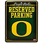 NCAA Oregon Ducks 8.5'' x 11'' Metal Reserved Parking Sign