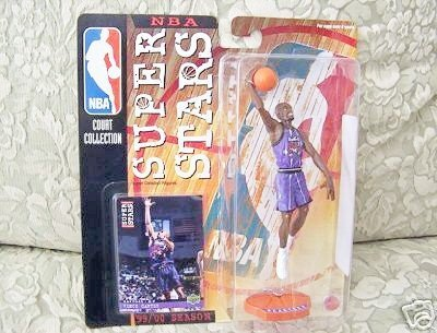 1999-2000 Mattel NBA Super Stars Figure - Vince Carter - 1