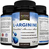 L-Arginine Capsules - Essential Amino Acid - Nutritional Supplement - Lower Blood Pressure - Body Building Support - Nitric Oxide Booster - Protein Synthesis - 100% Money Back Guarantee