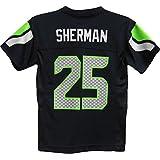 Richard Sherman Seattle Seahawks Navy Blue NFL Youth 2015-16 Season Mid-tier Jersey