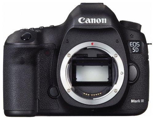 Canon デジタル一眼レフカメラ EOS 5D Mark III ボディ 約2230万画素フルサイズ DIGIC 5+(プラス) 3.2型ワイド液晶モニター EOS5DMK3