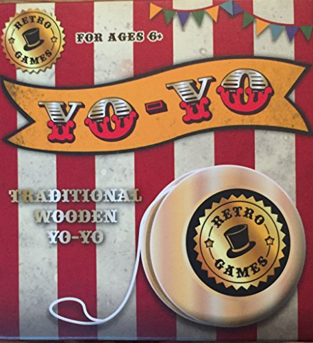 RETRO YO-YO- WOODEN