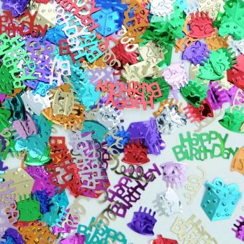 Beistle CN023 Birthday Bash Confetti