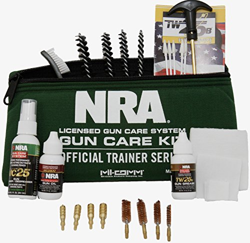 Mil-Comm Complete Pistol Cleaning Kit - Official NRA Trainer Series (Handgun Grease compare prices)