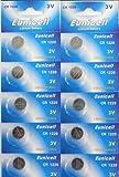 BRAND NEW 10 x CR1220 Lithium Batteries Battery Eunicell Brand Not Cheap Brand 1st Class